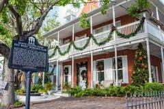 Klubba för kvinna` s i Key West Arkivbilder