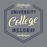 Klubba för universitethögskola Royaltyfri Foto