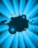 Klubba partiflayer för musikhändelse eller affisch Arkivbild