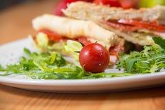 Klubbasmörgås Royaltyfria Bilder