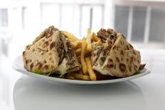 Klubbasmörgås med gyroskop Royaltyfri Bild