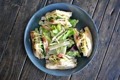 Klubbhussmörgås utan kött Royaltyfri Fotografi