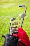 klubbor golf seten Royaltyfria Foton