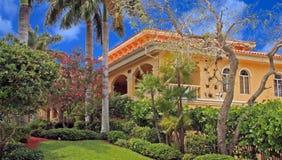Klubhaus in Fort Myers, Florida Lizenzfreie Stockfotos