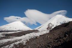 Kluchevskaya volcano in Kamchatka region, Russia. Royalty Free Stock Photo