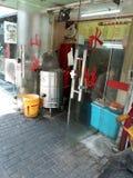 Kluchy knajpa w Chiny zdjęcie royalty free