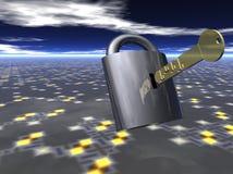 klucz do danych royalty ilustracja