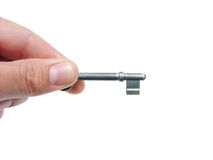 klucz do domu Zdjęcie Stock