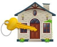 klucz do domu ilustracji