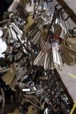 klucz do drzwi Obrazy Stock