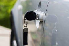 klucz do samochodu Obraz Royalty Free