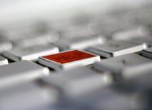 klucz komputerowy pomocy Zdjęcia Stock