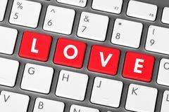 klucz miłość Zdjęcia Stock