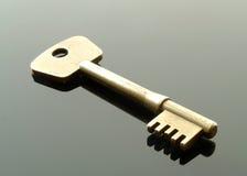 klucz mosiądza Zdjęcia Stock