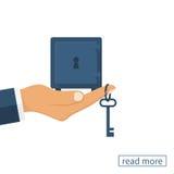 Klucz pieniądze wektor ilustracja wektor