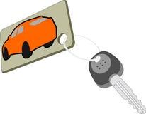 Klucz samochód Obrazy Royalty Free