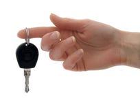 Klucz samochód Obrazy Stock