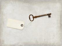 Klucz, stary, tło, brown fotografia royalty free