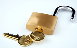 klucza kędziorek Zdjęcia Royalty Free