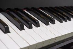 2 klucza na pianinie Zdjęcia Royalty Free