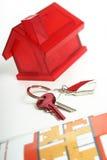 klucze do domów Zdjęcia Stock