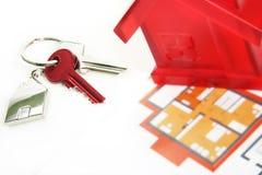 klucze do domów Zdjęcie Royalty Free