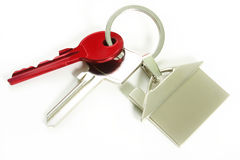 klucze do domów Fotografia Stock