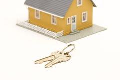 klucze do domów Zdjęcia Royalty Free