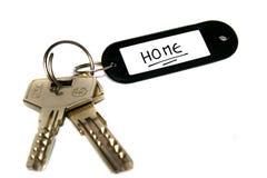 klucze do domu Zdjęcie Royalty Free