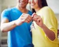 klucze do domu Zdjęcie Stock