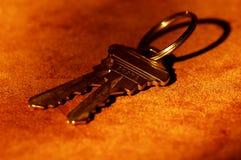 klucze do domów Fotografia Royalty Free