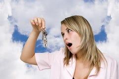 klucze do mojego domu Zdjęcia Stock