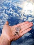 klucze do mojego domu Obrazy Stock