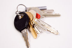 klucze do odłogowania Zdjęcie Stock