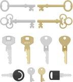 klucze dwanaście Royalty Ilustracja