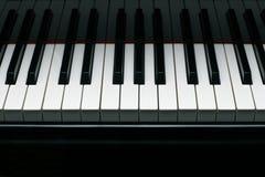 klucze fortepianowi grand zdjęcia stock