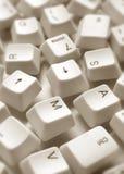 klucze komputerowych Zdjęcie Royalty Free