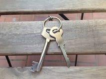 Klucze mieszkanie Zdjęcie Royalty Free