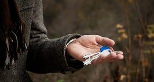 Klucze w ręce Zdjęcie Royalty Free