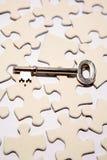 kluczowa łamigłówka Zdjęcie Royalty Free