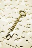 kluczowa łamigłówka Zdjęcia Royalty Free
