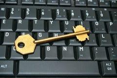kluczowa klawiatura Zdjęcia Stock