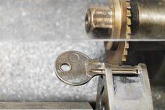 Kluczowa kopiowa maszyna z kluczem Obrazy Stock