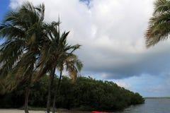 Kluczowa Largo plaża Fotografia Stock