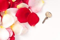 kluczowa miłość Zdjęcie Stock