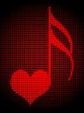 kluczowa miłość Zdjęcie Royalty Free