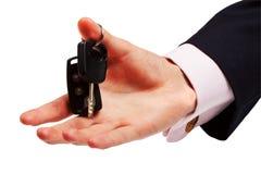 kluczowa ręki ofiara Fotografia Stock