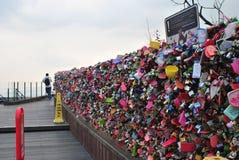 Kluczowi miłość kędziorki Fotografia Stock