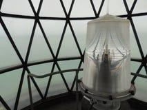 Kluczowy Biscayne latarni morskiej światło Zdjęcia Stock