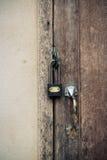 Kluczowy drzwiowy kędziorek dla bezpieczeństwa Obrazy Stock